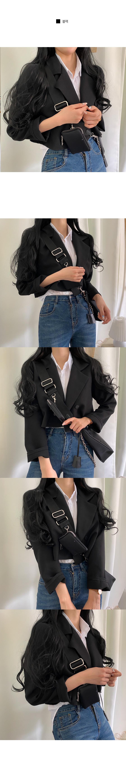 Double short jacket