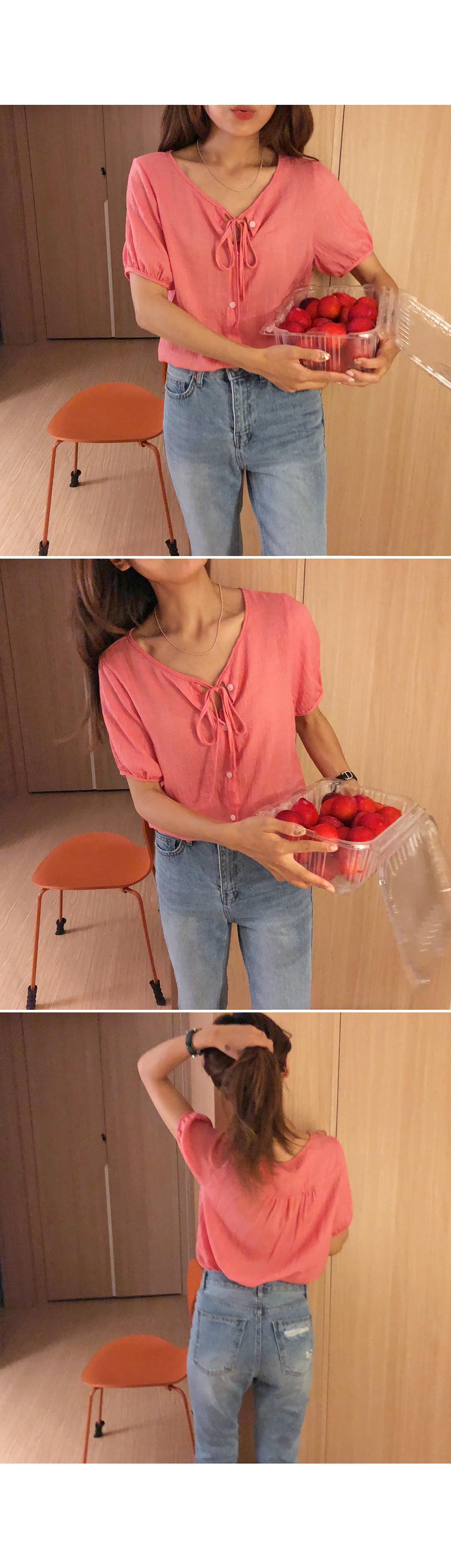 Cherries-blouse