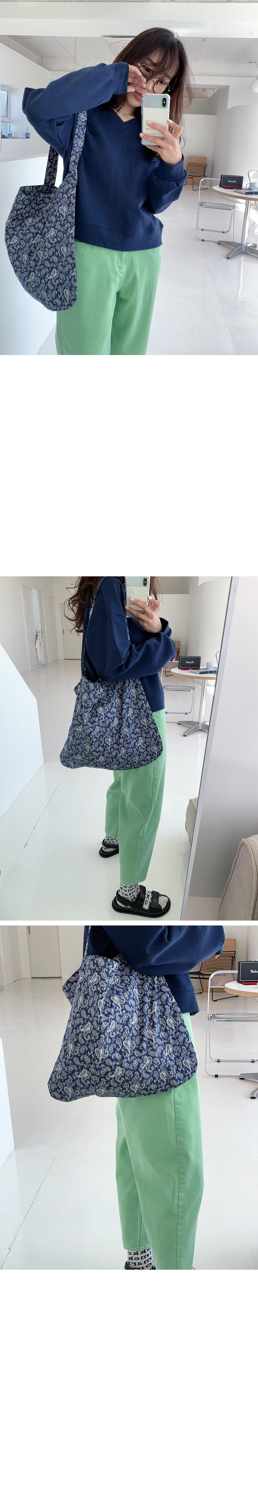 Paisley fabric bag