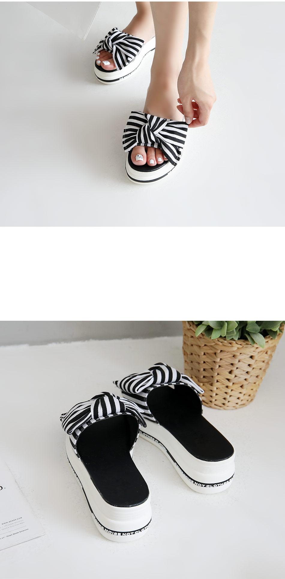 Sweetie Tongue Mule Slippers 5cm