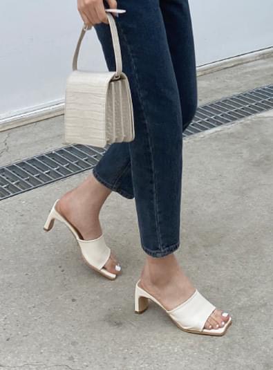 스퀘어뮬 shoes (*3color)