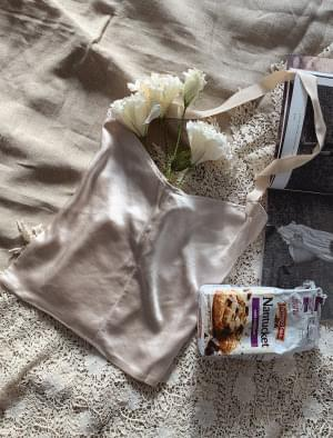 Loose Fit Silky Eco Bag 帆布包