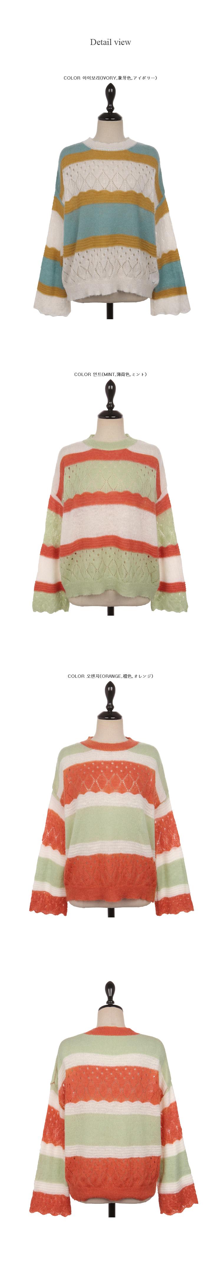 Ellie color knit