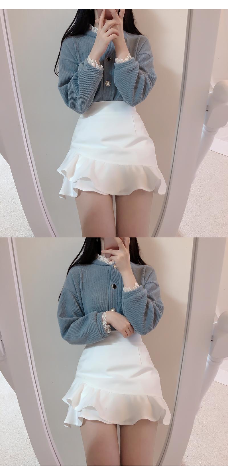 Self-made ♥ Order runaway! Life jewelry knit cardigan