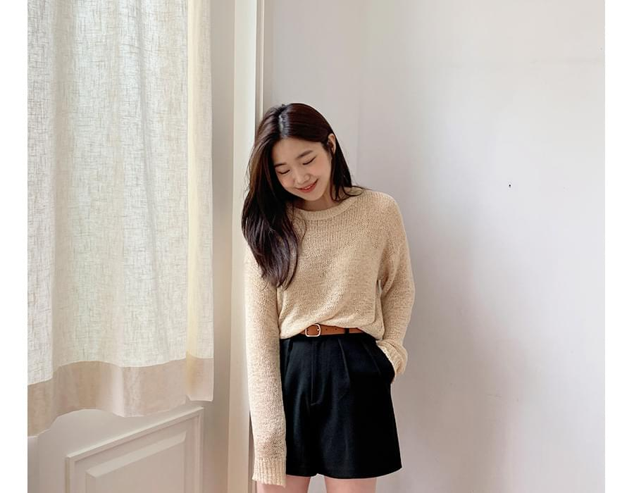 Drop fit summer knit_K