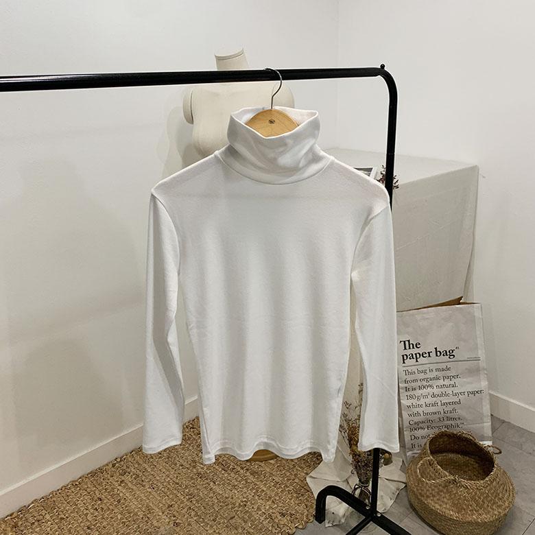 Shroud High Neck Loose Polar T-Shirt