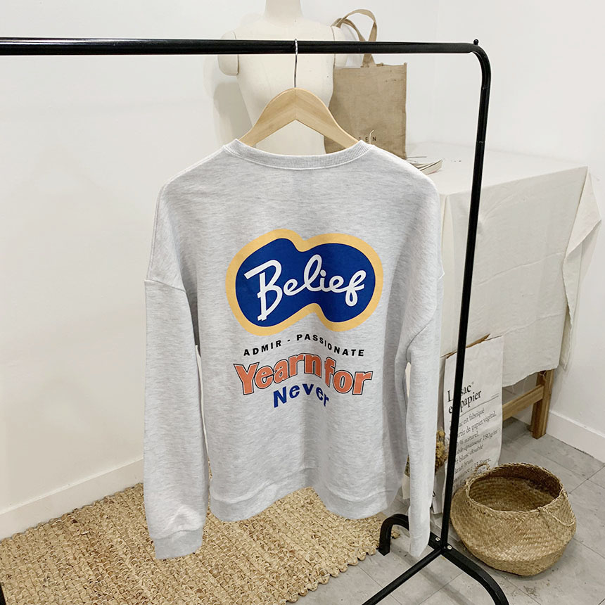 Belif Printing Round Neck One to One