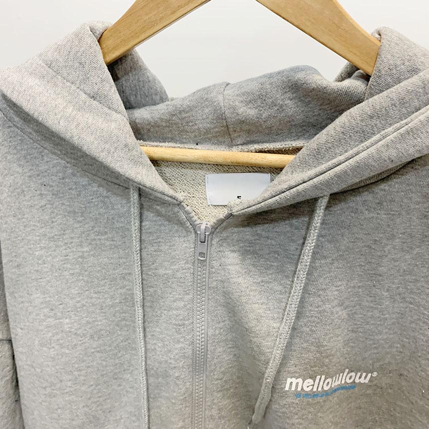 Mellow Lettering Hood Zip-Up