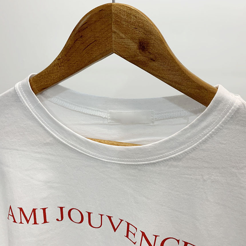 Juventus Lettering Round Neck Long Sleeve T-Shirt