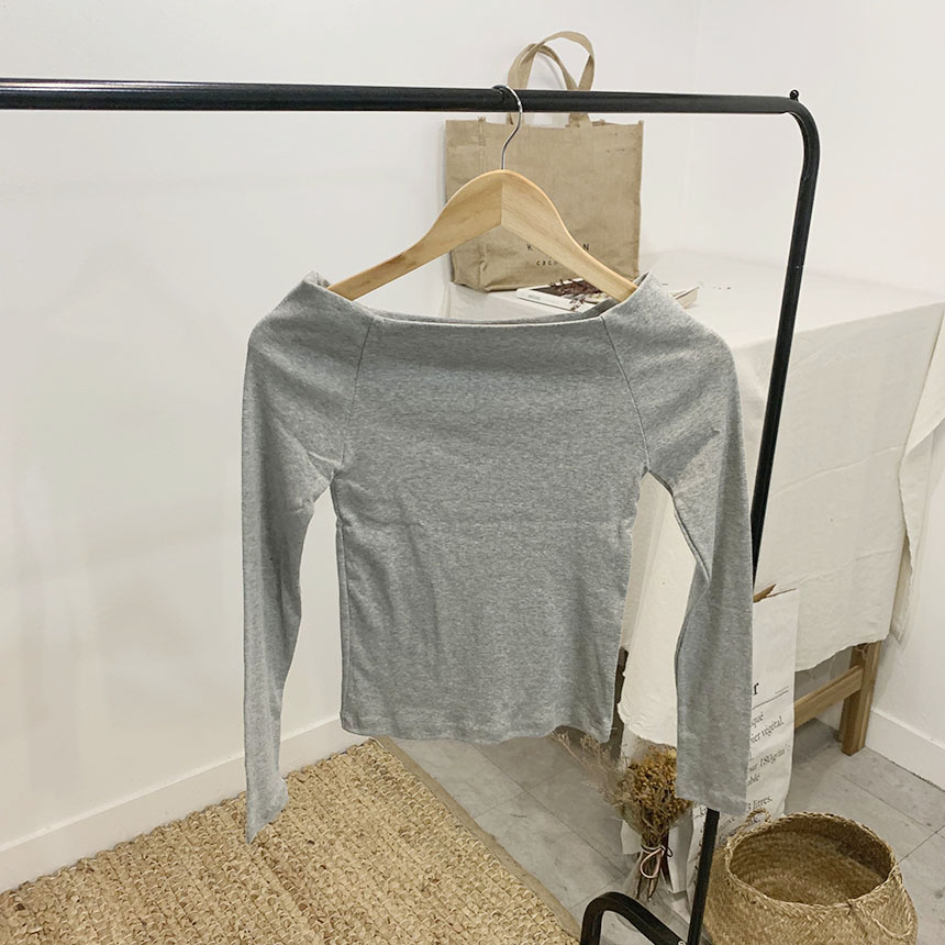 Dable Off Shoulder Long Sleeve T-Shirt