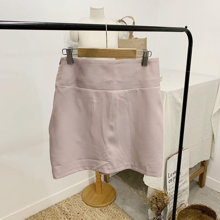 Hublot Buckle Mini Skirt Pants