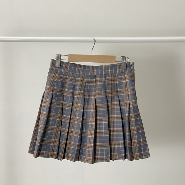 Check tennis mini skirt