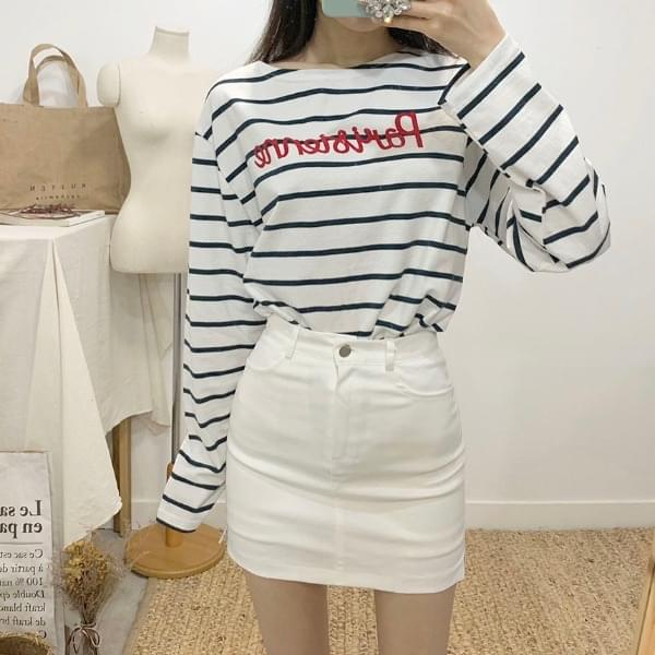 Alita cotton mini skirt pants