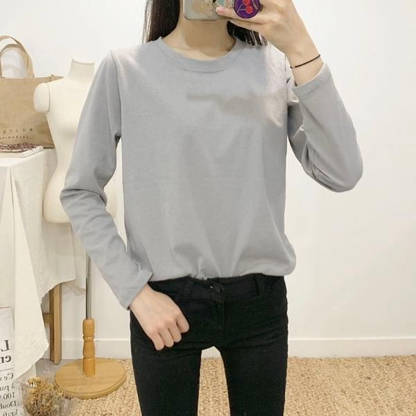 Farther Round Neck Long Sleeve T-Shirt