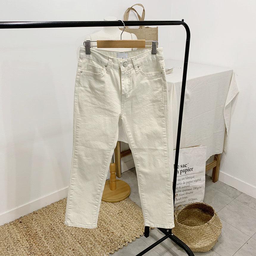 Zero-City Part 8 Skinny Cotton Pants