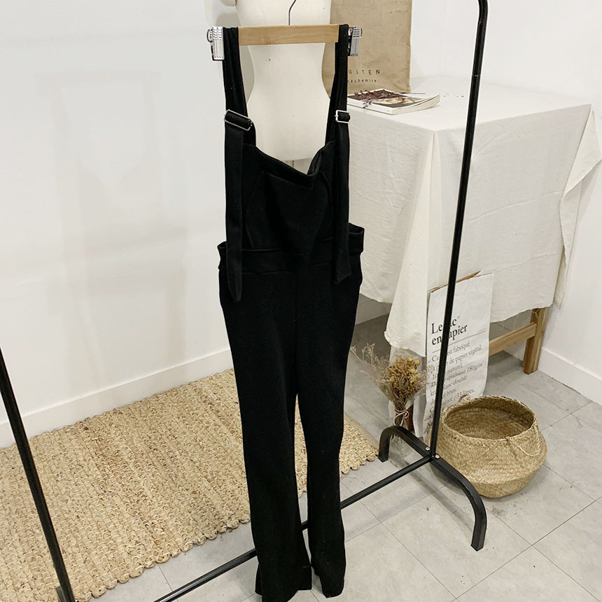Fate Bootcut Long Suspender Pants