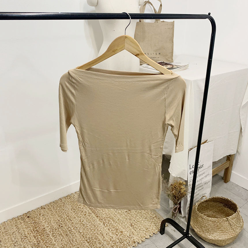 Lohai lip neck 5 piece t-shirt