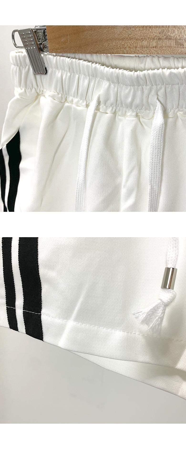 Color line training shorts