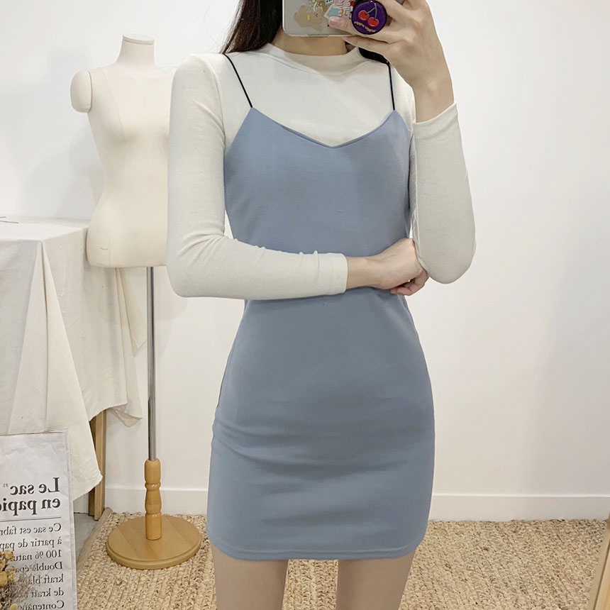 Blooming Bustier Mini Dress 5colors