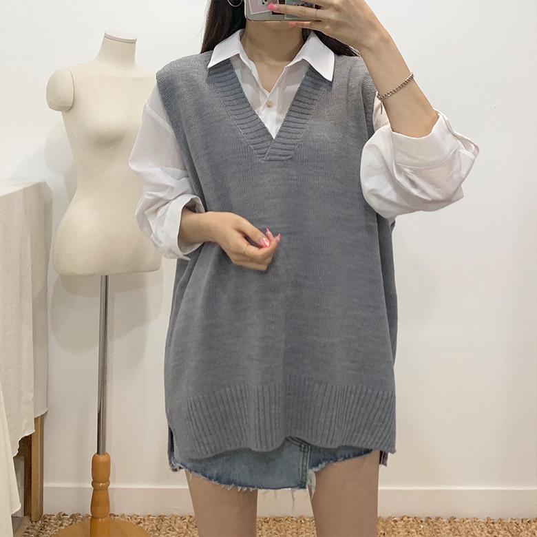 Pedis V-neck knit best