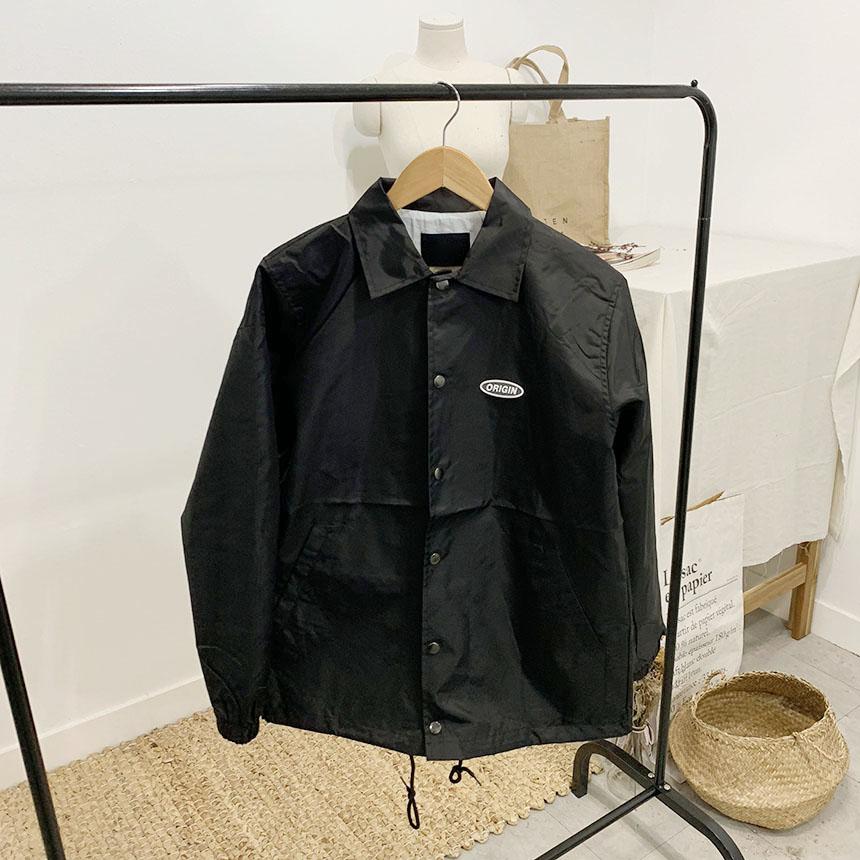 Original lettering coach jacket