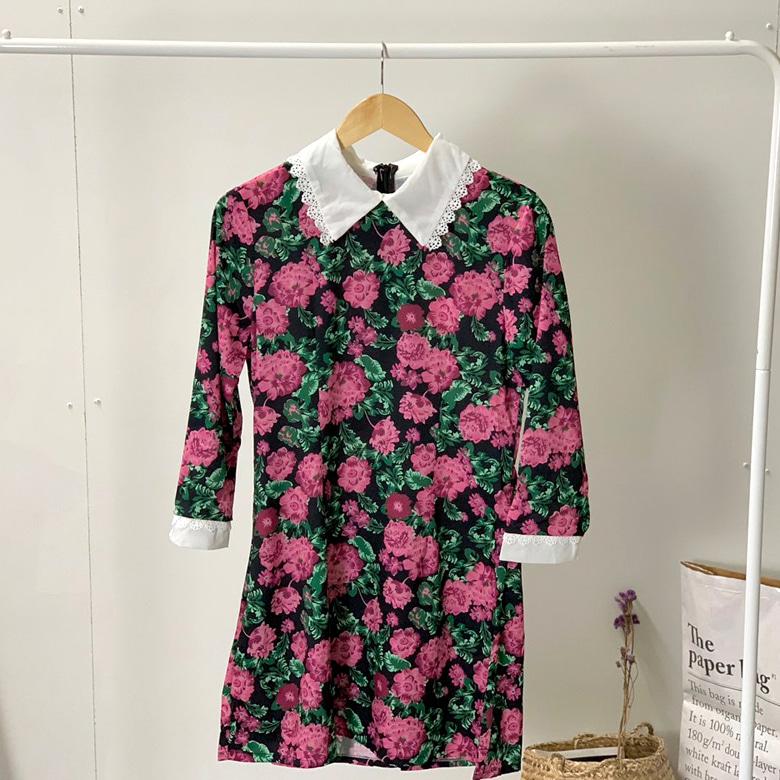Romance Kara Lace Mini Dress