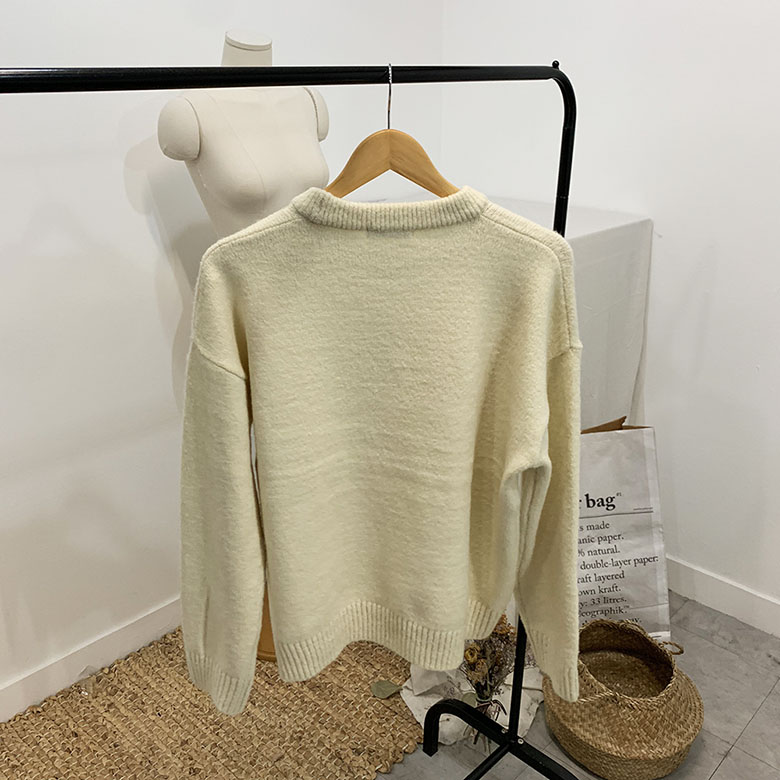 Pick Me Pastel Round Neck Knit