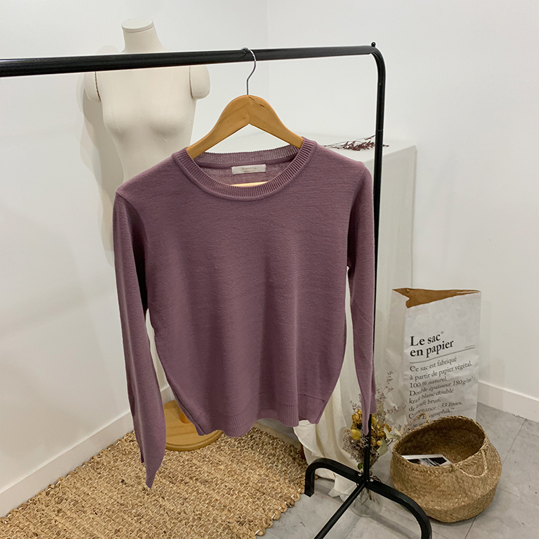 Bella high daily round knit