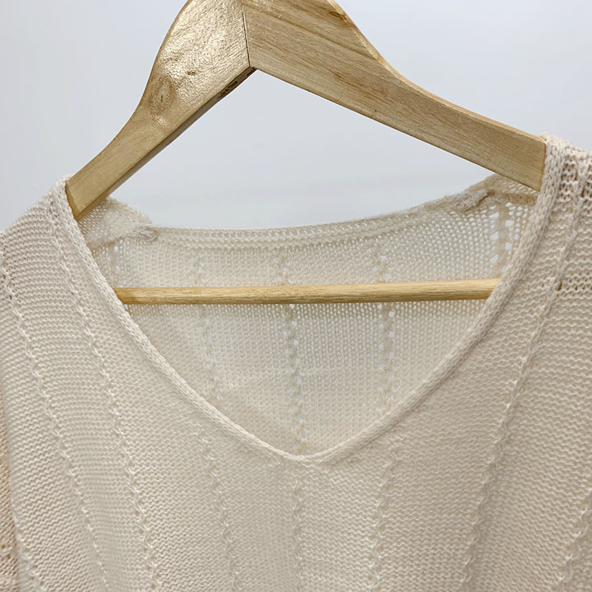 Park Me V Neck Long Sleeve Knit