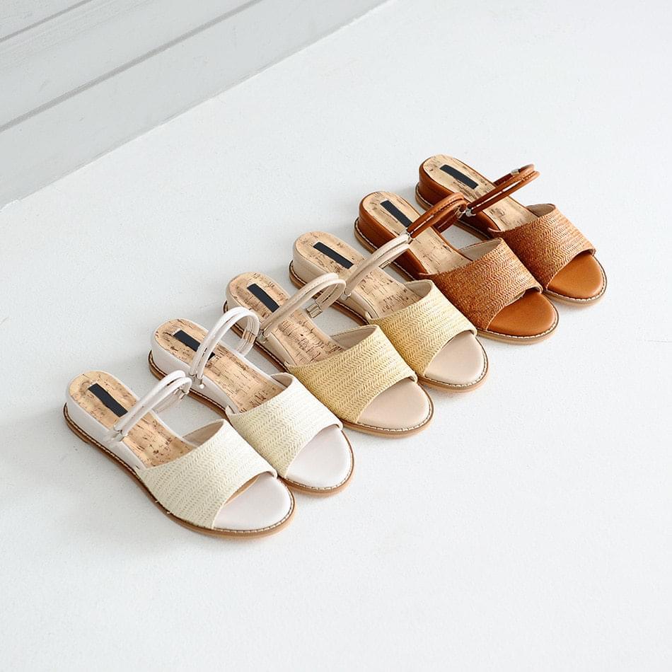 Brisson Two Way Wedge Sandals 3cm