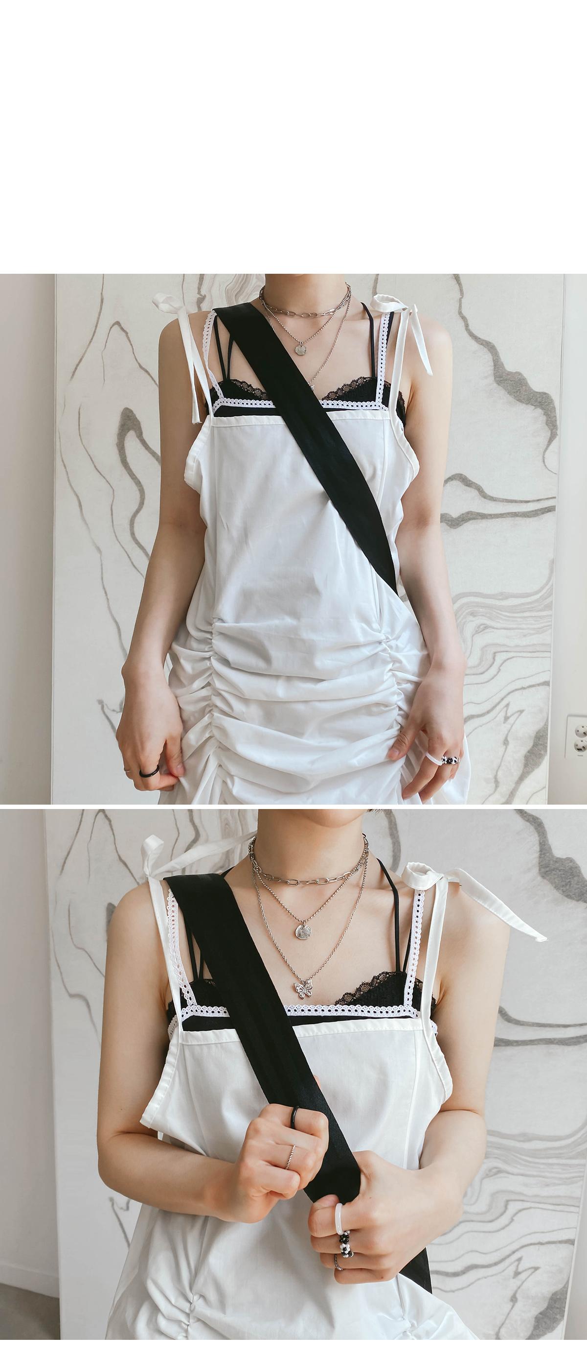 Shirring Lodi Bustier Dress