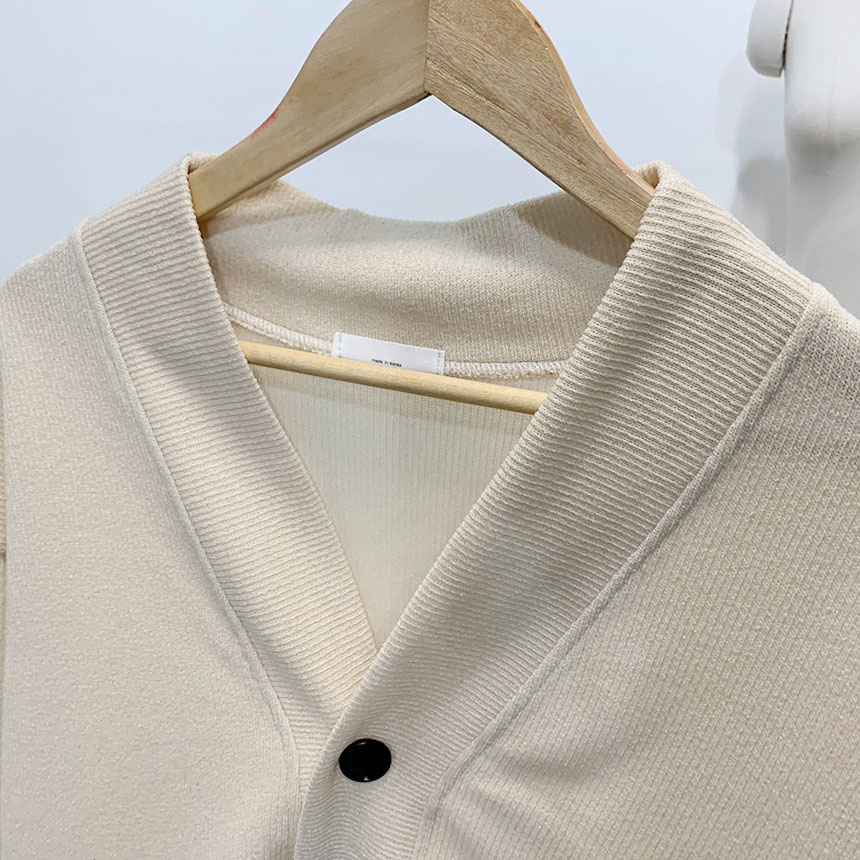 Maple V Neck Overfit Cardigan 5colors