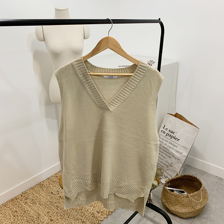 Pedis V-neck knit best