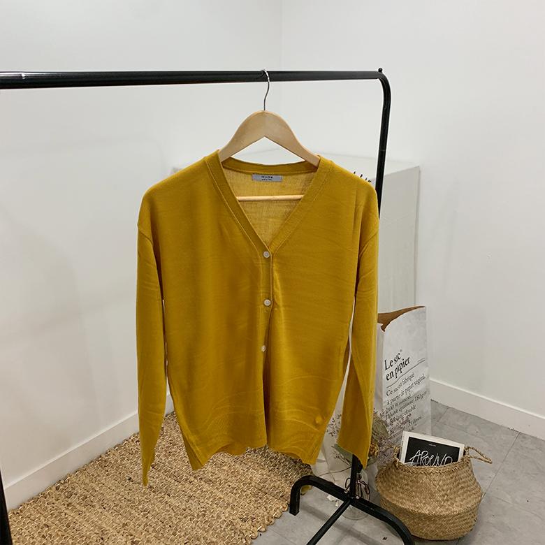 Coco Rouge basic cardigan