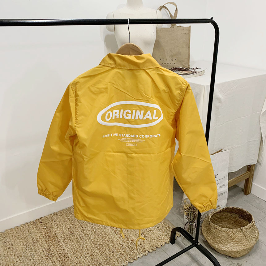 Original lettering coach jacket