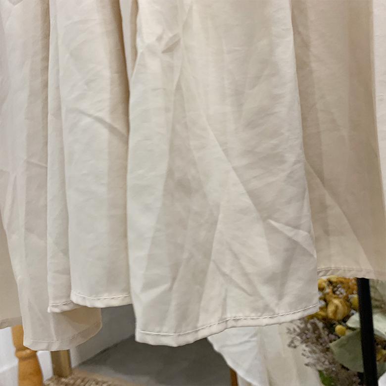 Marcia Shirring Long Skirt