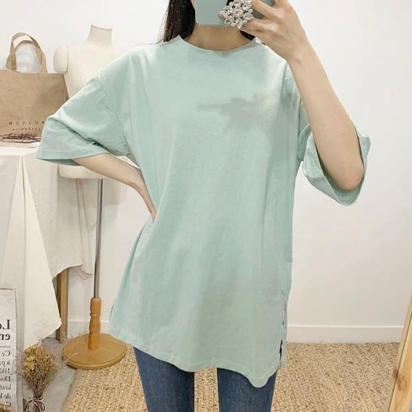 Delisome Round Neck Short Sleeve T-Shirt