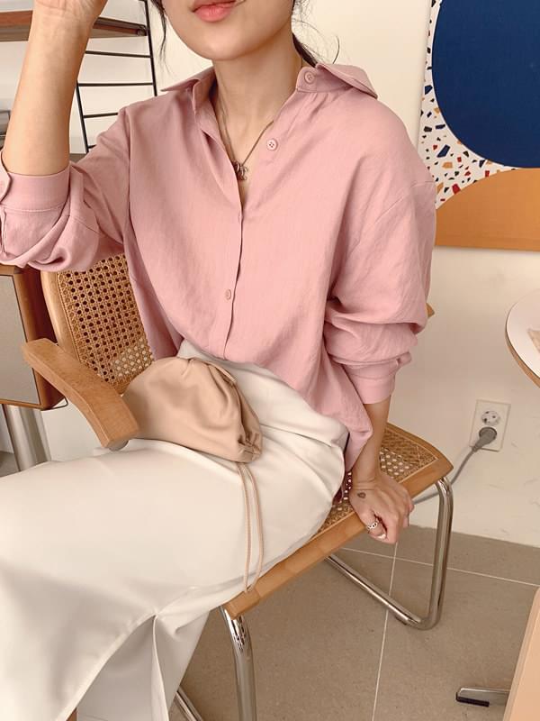 Marmalade ♥ .Rose Shirring Shirt Blouse