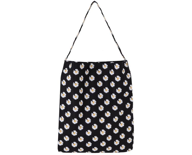 Dandelion Flower Shoulder Eco Bag