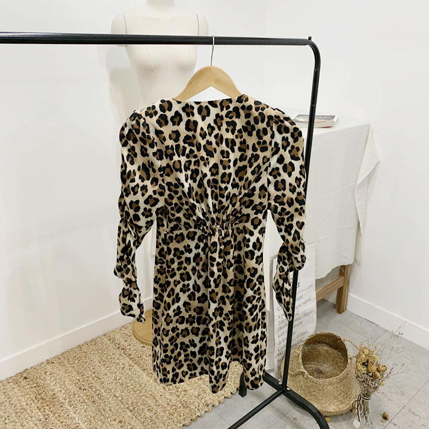 Leraha Hopi Shirring Mini Dress