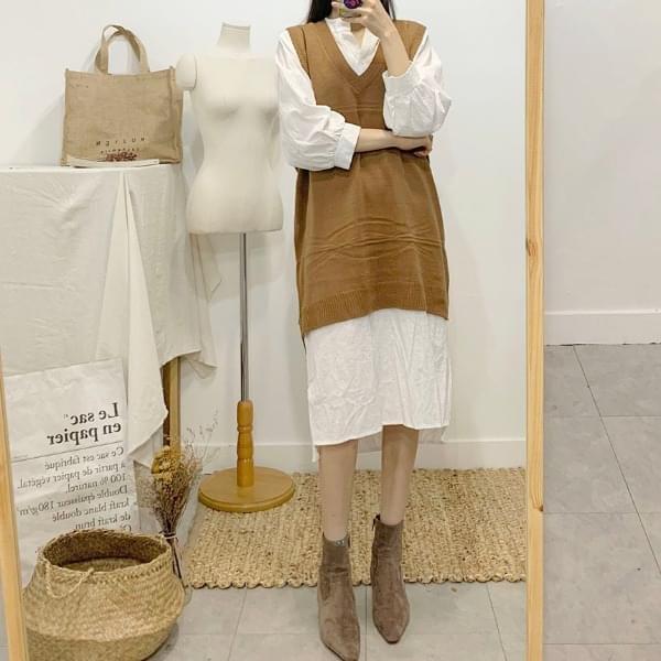 Lisnik Long Knit Best Dress