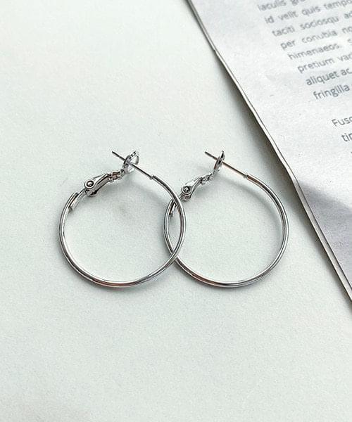 韓國空運 - simple circle earrings 耳環
