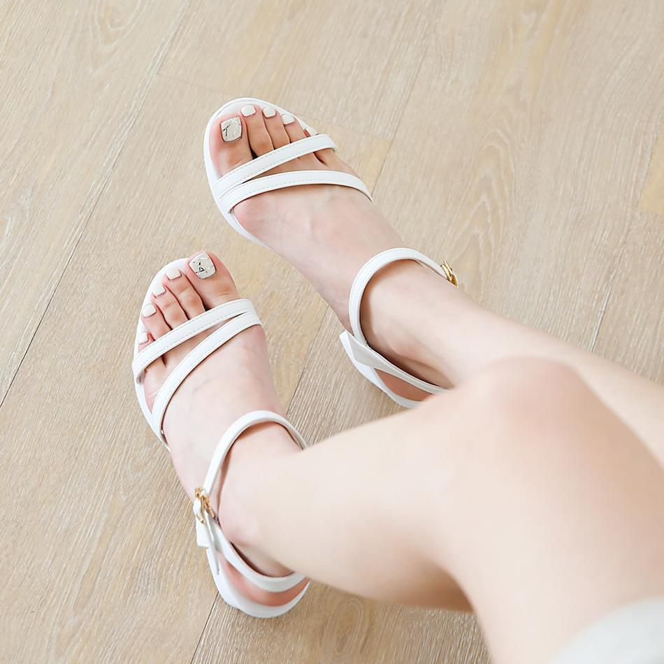 Baellin platform strap sandals 7 cm