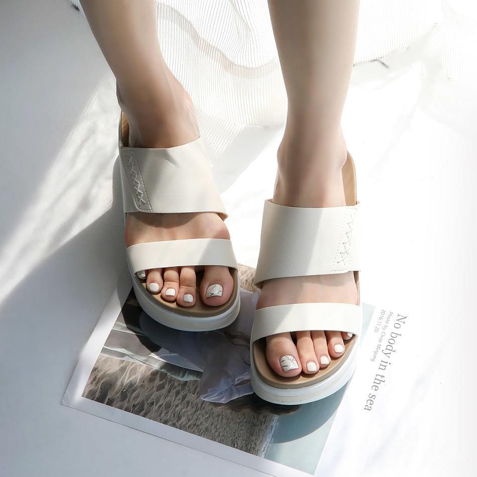 Merka Thick Slippers 7cm