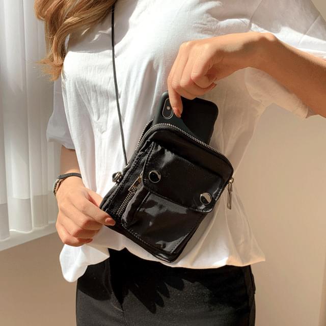 Glass Pocket Mini Bag 3color