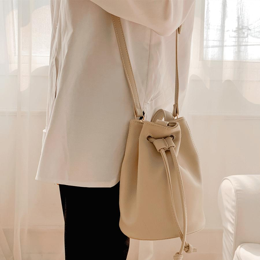 Modern simple mini bucket bag lucky bag 3color