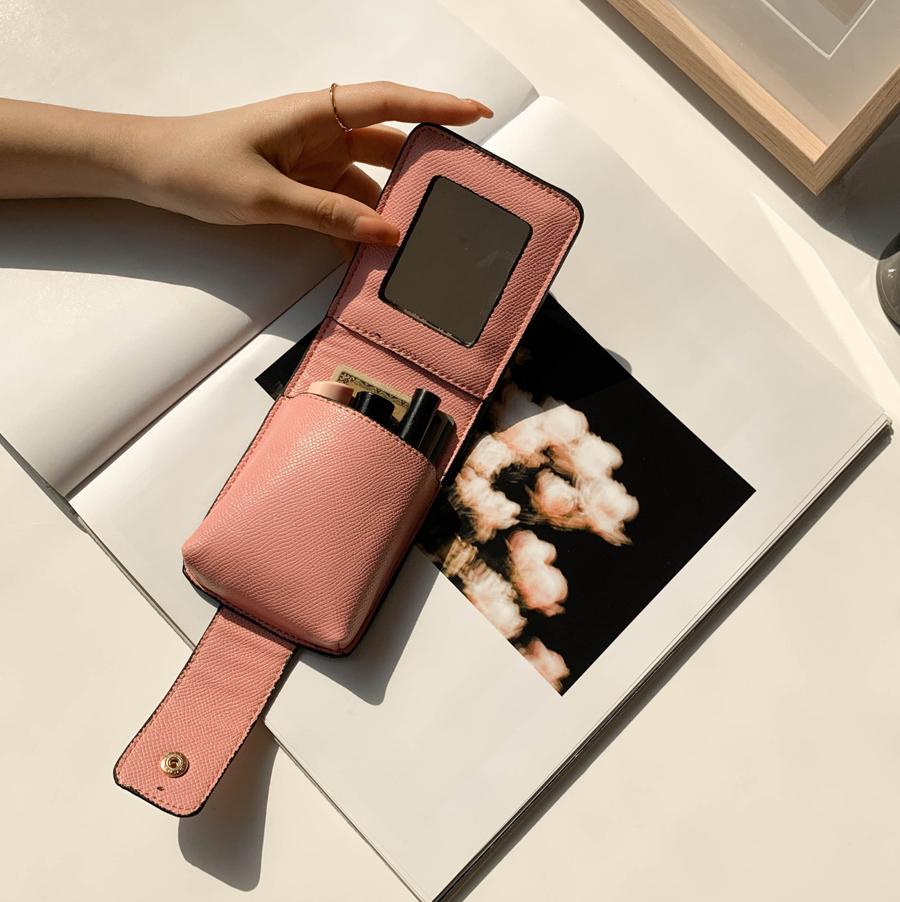 Line lipstick case pouch 3color