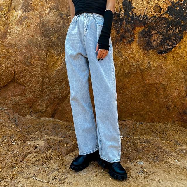 Hook Prodi Denim Wide Pants