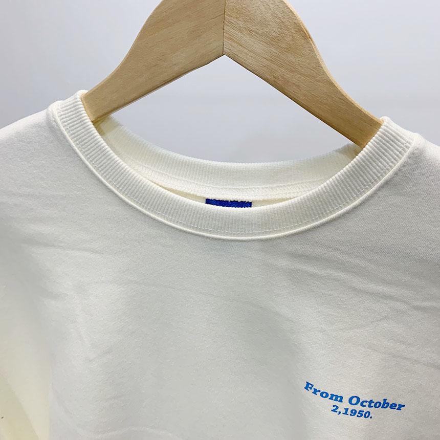 Promtober printing round neck man-to-man