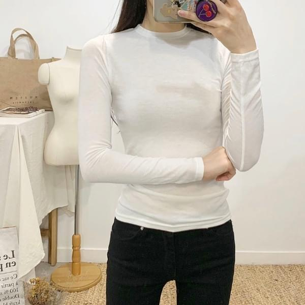 Blenny Vivid Round Neck Long Sleeve T-Shirt